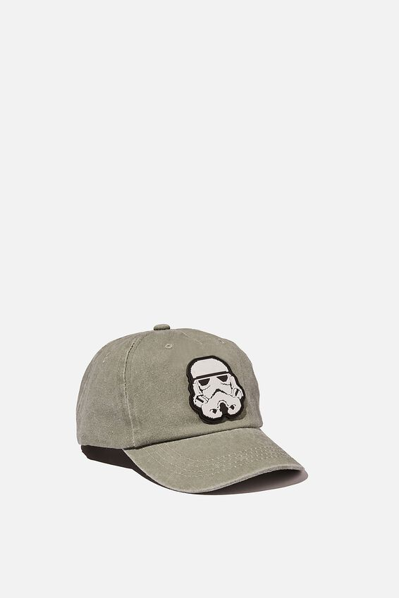 Licensed Baseball Cap, LCN LUC STORM TROOPER BLK STK