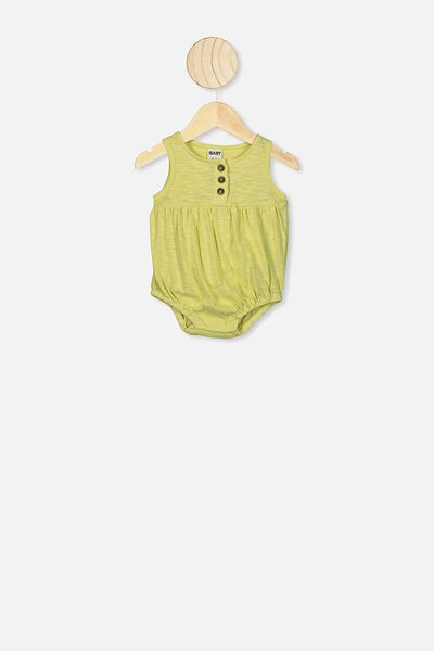 Craigelina Singlet Bubbysuit, LEMON DROP