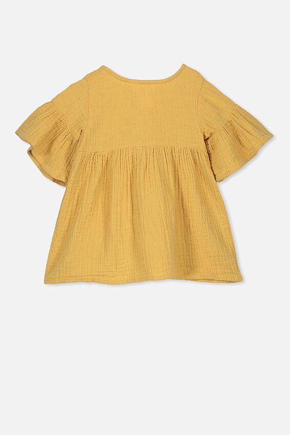 Poppy Dress, CORN SILK