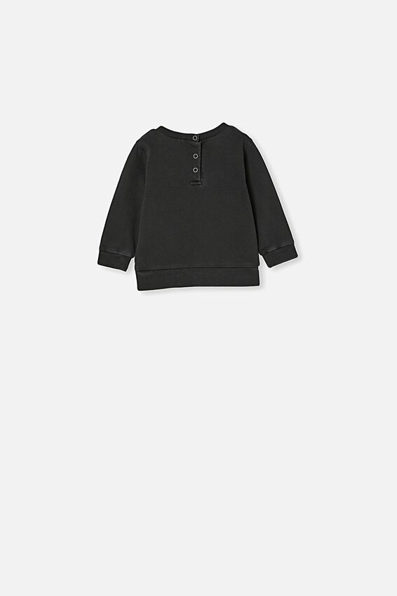 Billie Sweater, BLACK WASH