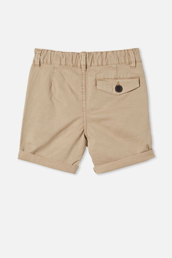 Walker Chino Shorts, WASHED STONE