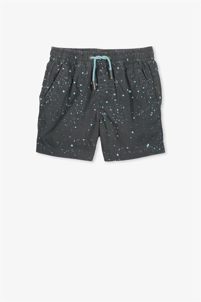 Murphy Swim Short, PHANTOM/SHELL BLUE SPLATTER
