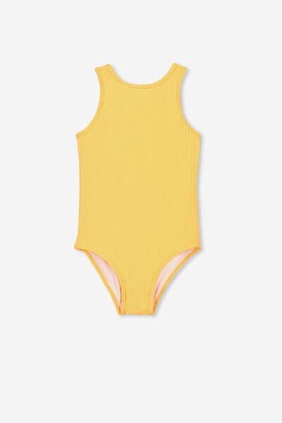 Lisette One Piece, RIB TROPICAL PUNCH