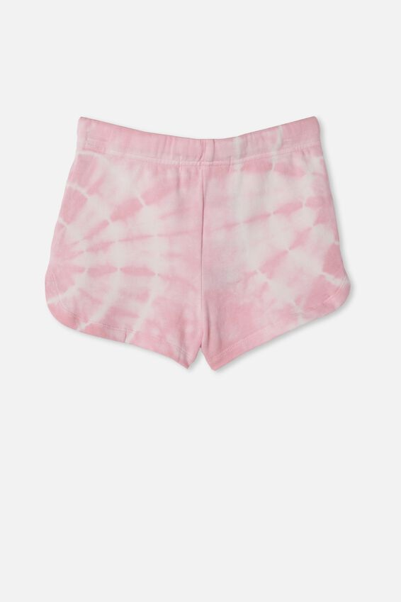 Gianna Knit Short, CALI PINK TIE DYE