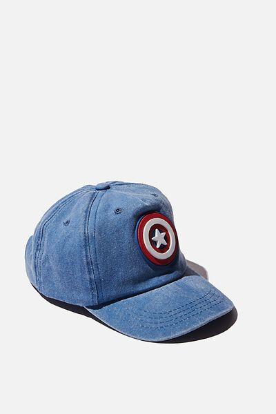 Licensed Baseball Cap, LCN MAR CAPTAIN AMERICA