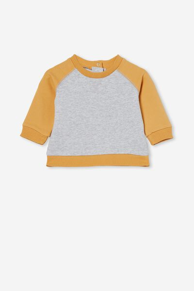 Tate Sweater, CLOUD MARLE/VINTAGE HONEY