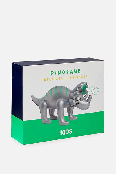 Kids Giant Dinosaur Sprinkler, GREY