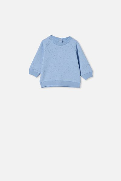 Harley Sweater, POWDER PUFF BLUE NEP