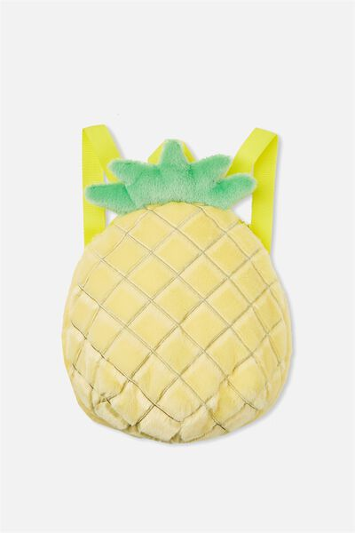 Mini Novelty Backpack, PINEAPPLE