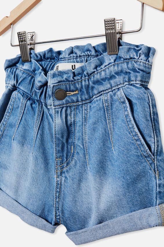 Peta Paperbag Short, WEEKEND WASH