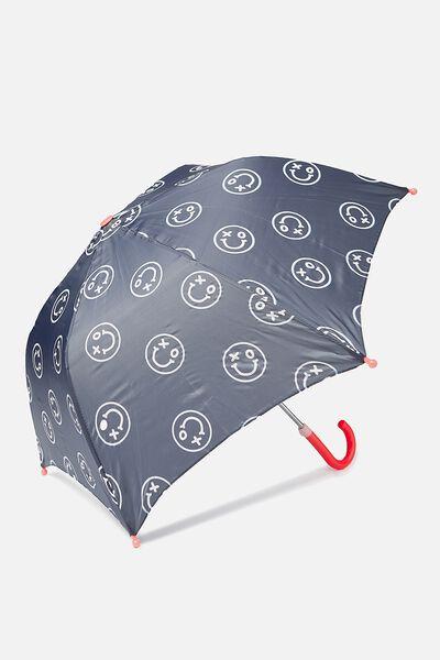 Umbrella Colour Change, BLACK AND WHITE SMILES