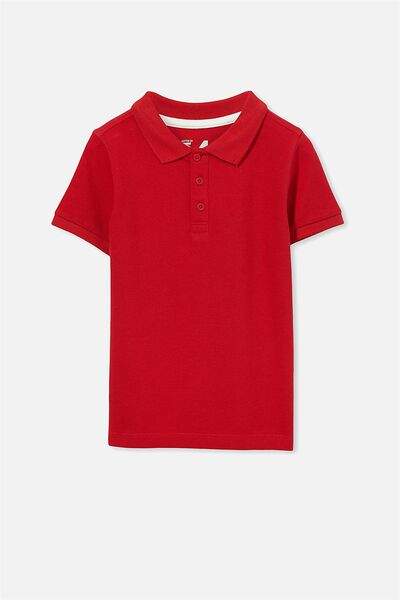 Kenny 3  Polo, CLASSIC RED