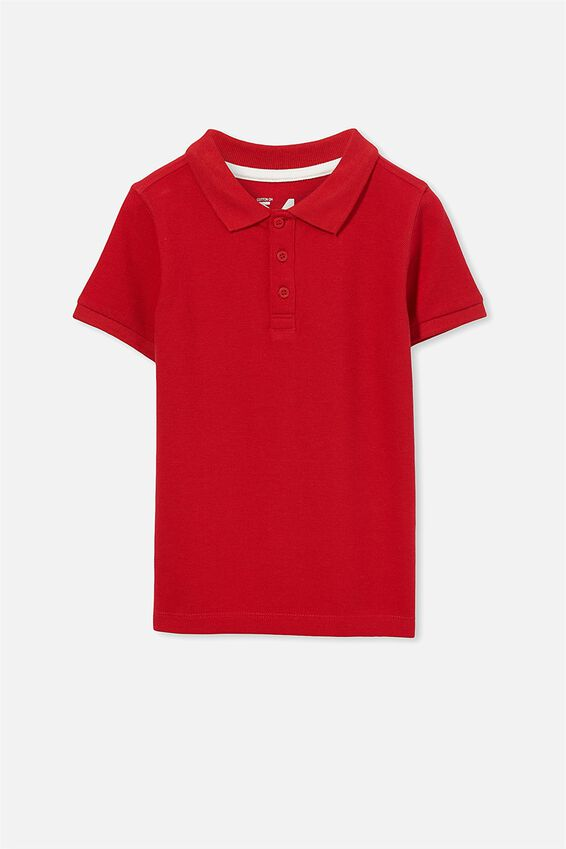 Kenny3 Red Polo, CLASSIC RED