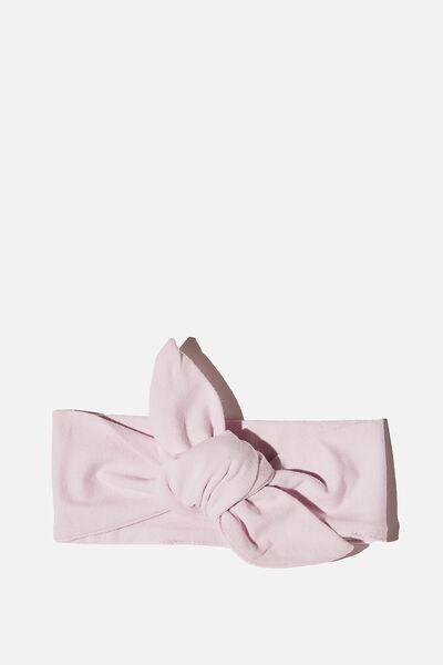 The Tie Headband, LAVENDER FOG