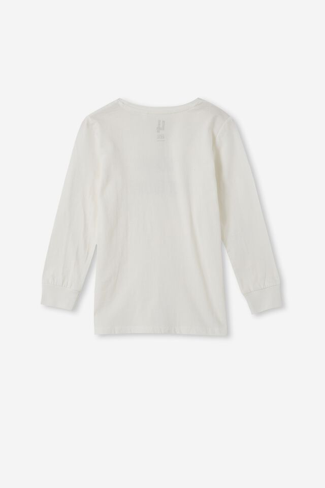Max Long Sleeve Tee, RETRO WHITE/TO LAH OR NOT TO LAH