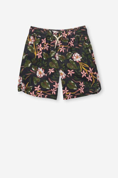 Murphy Swim Short, NAVY/FLORAL