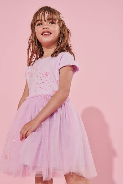 Iris Tulle Dress, LCN DIS/TANGLED