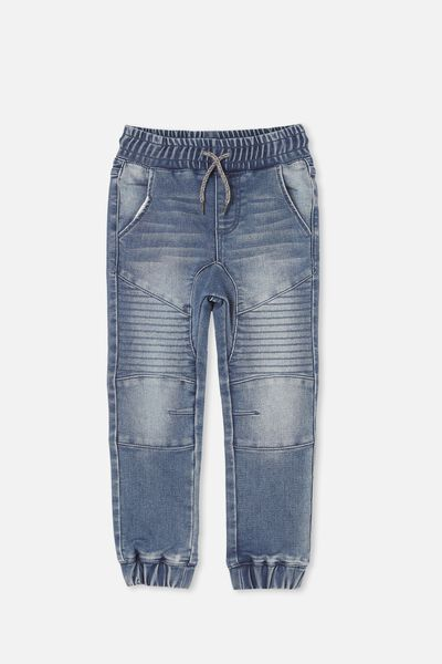 Chad Jogger, MID BLUE WASH