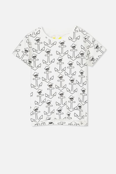 Max Short Sleeve Tee, ANCHOR YDG/SIS