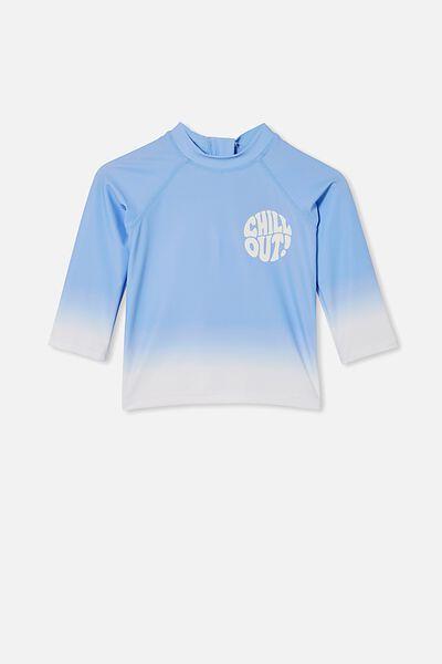 Freddie Rash Vest, DUSK BLUE/CHILL OUT