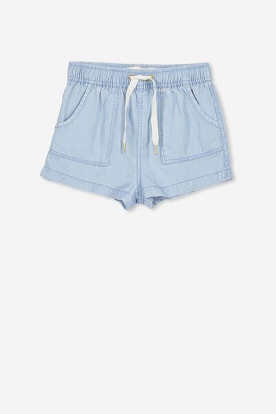 Alexa Short, LIGHT WASH