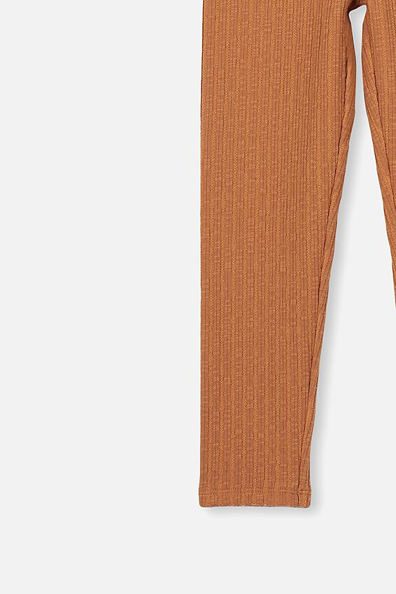Huggie Leggings, CARAMEL TOFFEE/TEXTURED RIB