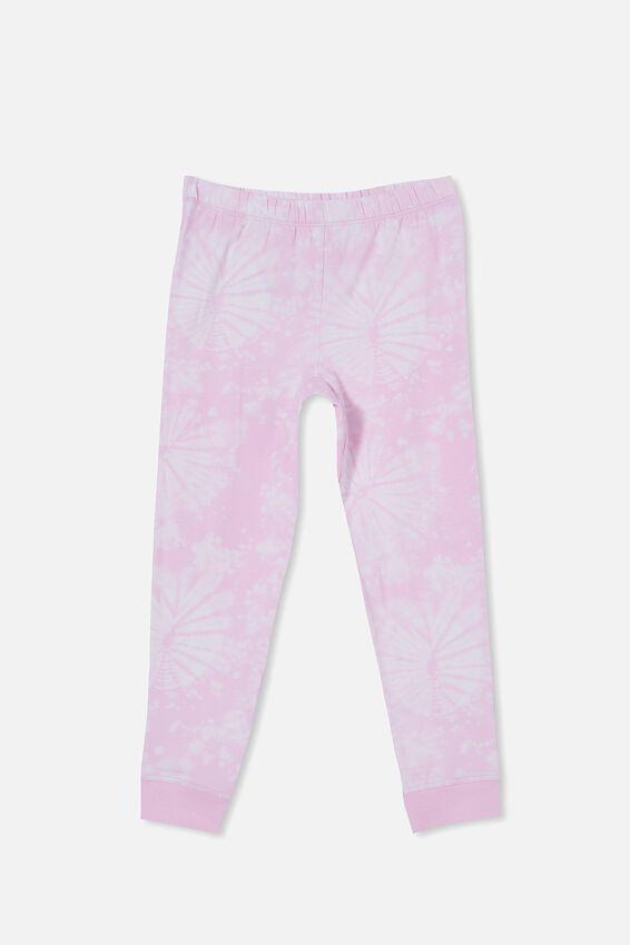 Florence Long Sleeve Pyjama Set, SLOTH TIE DYE/PALE VIOLET
