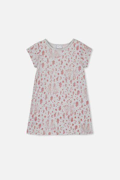 Jessica Tee Nightie, LCN DIS FROZEN BOTANICAL