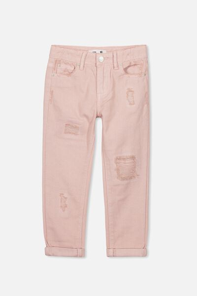 India Slouch Jean, PEACH WHIP