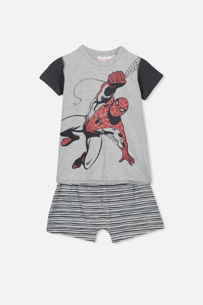 Hudson Ss Pj Set, LCN MAR SPIDERMAN GM