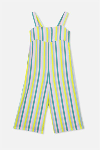 Zoe Long Jumpsuit, RAINBOW STRIPE