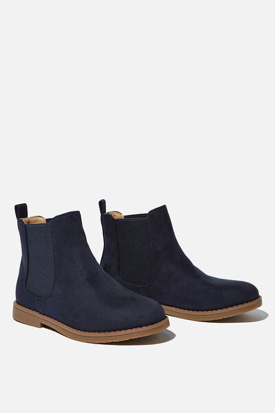 Chelsea Gusset Boot, VINTAGE NAVY