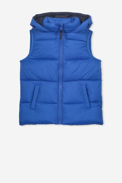 Billie Puffer Vest, SURF THE WEB