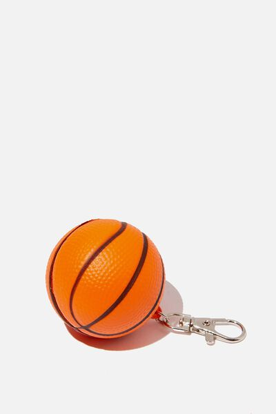 Kids Squishy Bag Charms, BASKETBALL