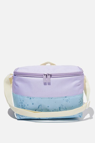 Kids Lunch Bag, PASTEL LILAC UNICORN