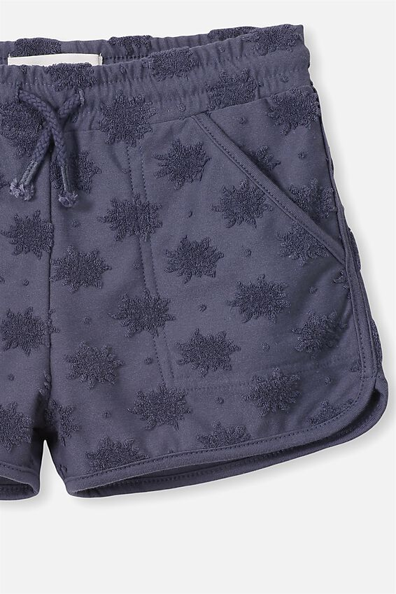 Nina Knit Shorts, VINTAGE NAVY SUNS