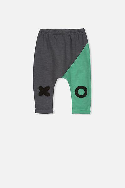 Frankie Pant, GRAPHITE GREY/XO PANTS