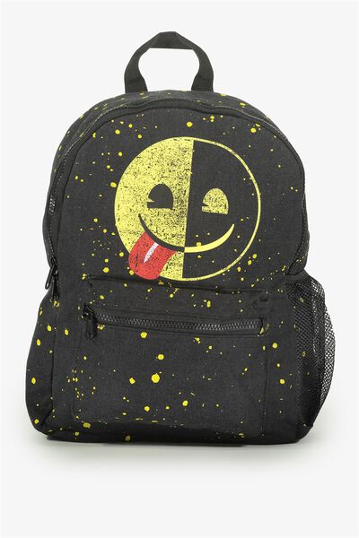 License Backpack, EMOJI PAINT SPLATTER