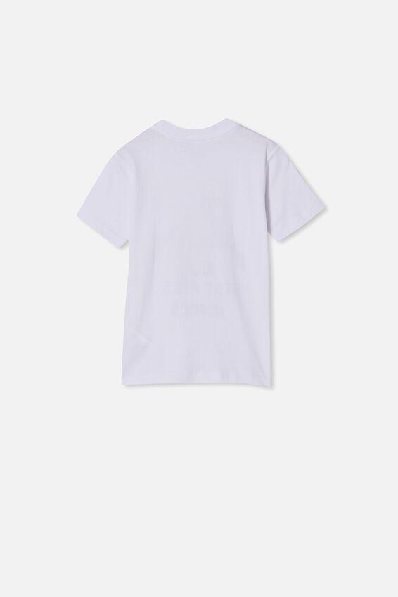 Max Skater Short Sleeve Tee, WHITE STAY FRESH