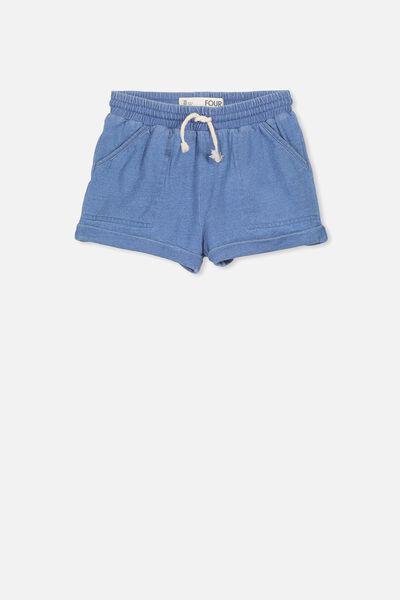 Nila Knit Short, INDIGO