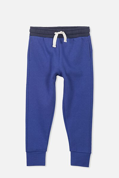 Lewis Trackpant, SCUBA BLUE/WASHED NAVY WAIST
