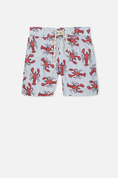 Chase Swim Short, ARTIC BLUE/LOBSTERS