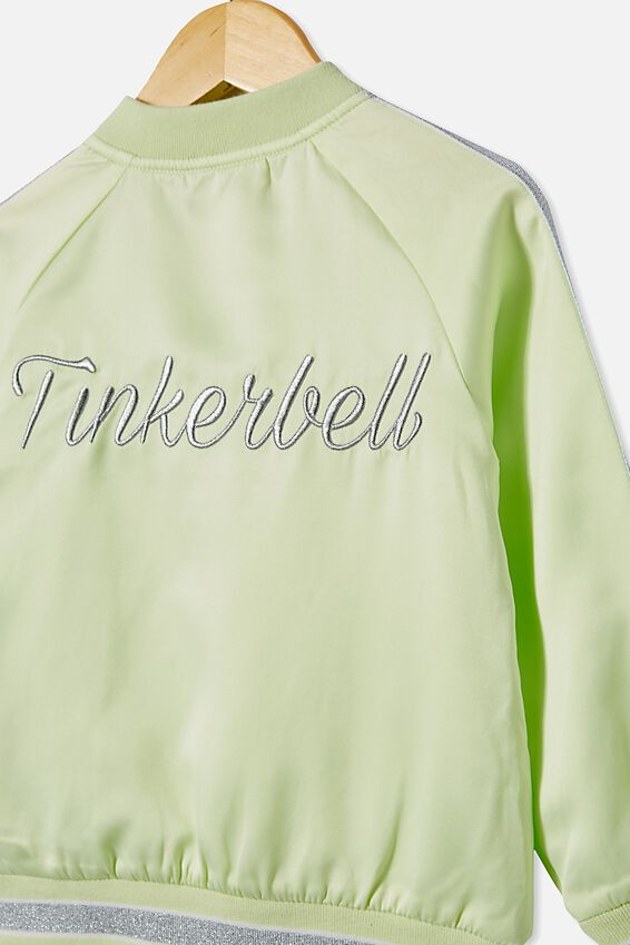 Tinkerbell Bomber Jacket, LCN DIS LIME CREAM/TINKERBELL