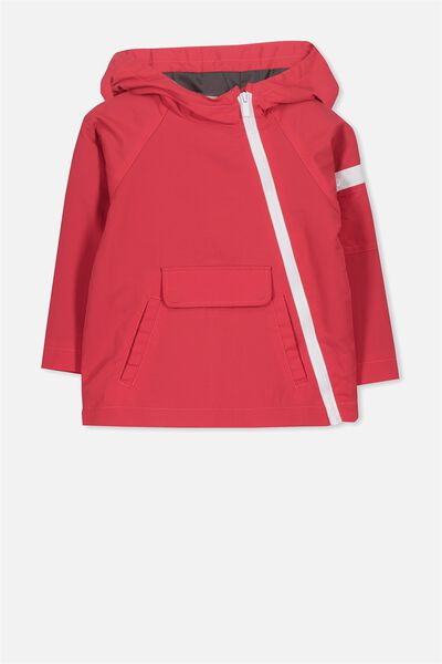 Gus Spray Jacket, RED