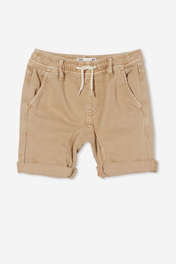 Slouch Fit Short, BRONTE STONE