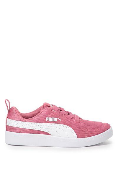 Courtflex Mesh Puma, RAPTURE ROSE- WHITE