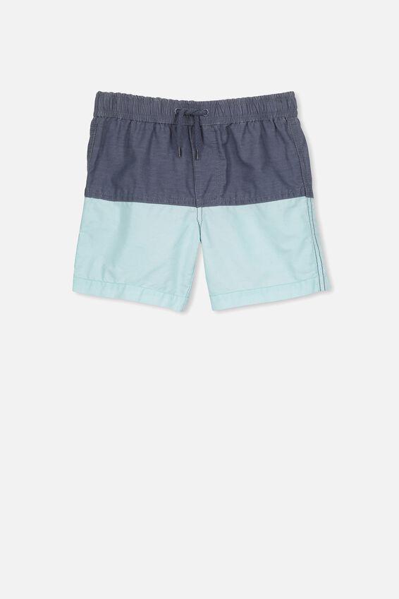 Murphy Swim Short, VINTAGE NAVY/ POOL BLUE SPLICE