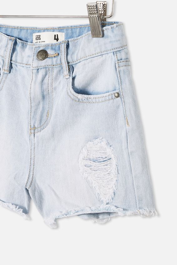 Sunny Denim Short, BLEACH WASH/RIPS