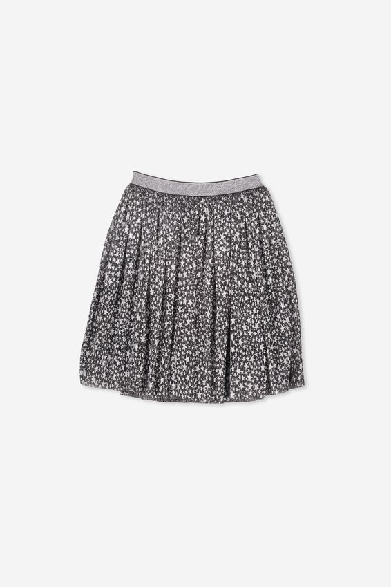 Kelis Dress Up Skirt, BLACK/STARS