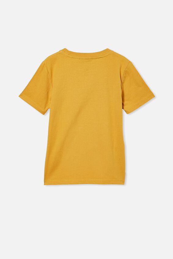 Co-Lab Short Sleeve Tee, LCN UNI HONEY GOLD / FAST & FURIOUS